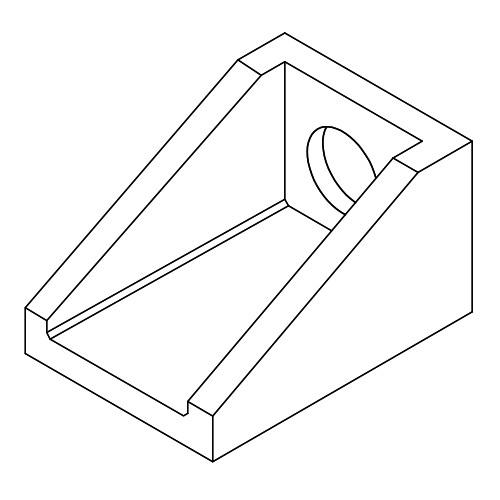Rectangular Line Drawing